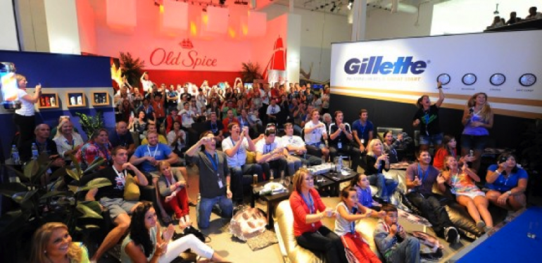 Gillette man cave, London 2012